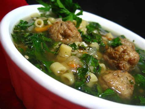 italian soup authentic italian wedding soup recipe