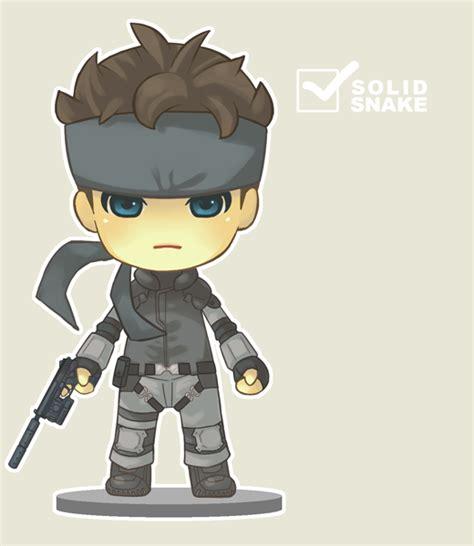 Dpk093 Nendoroid Metal Gear Soloid Solid Snake nendoroid solid snake by marizoh on deviantart