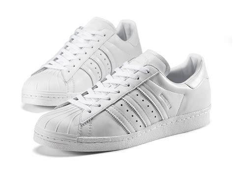 Adidas Superstar All White 100 Original adidas originals superstar 80s by gonz kustoo