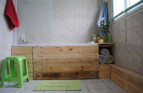 comment faire un tablier de baignoire faire un tablier de baignoire en bois