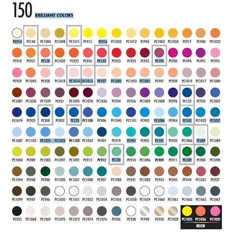 prismacolor marker color chart prismacolor premier pencils an artist s review step by