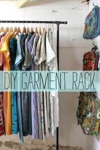 See the bee diy clothes rack
