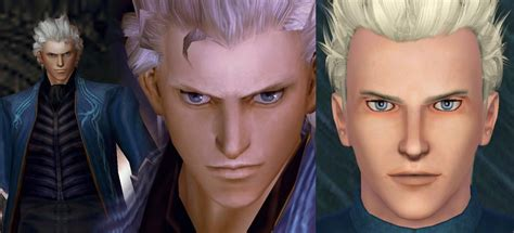 mod the sims dante devil may cry 4 mod the sims vergil devil may cry ya a 2in1