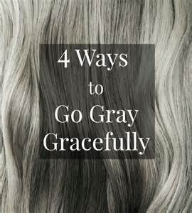 best way to color gray hair best 25 going gray ideas on going grey