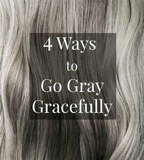 how to bring out the grey in hair best 25 going gray ideas on pinterest going grey