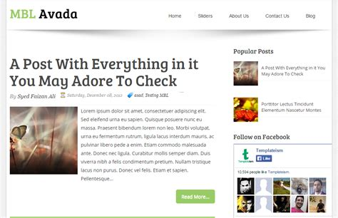avada theme blog not working avada blogger flexible clean and has fully mobile