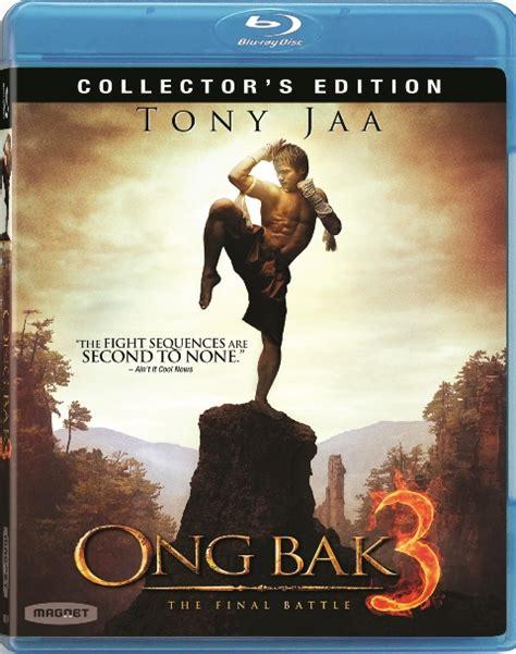 download film ong bak 1 bluray ong bak 3 blu ray review tony jaa martial arts flick