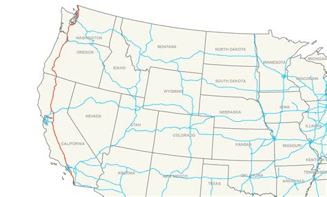 map of oregon interstates i 5 map my