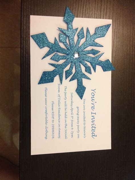snowflakes template invitation 1000 images about frozen invitations thank you tags and