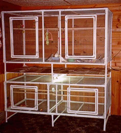 Pvc Cabins by Al S Cockatiel Cabin Pvc Flight Cage Plans
