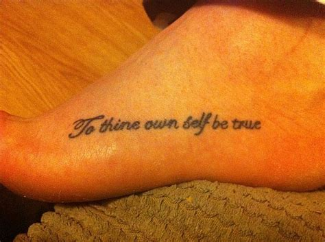 to thine own self be true tattoo dooza tv to thine own self be true loo s new