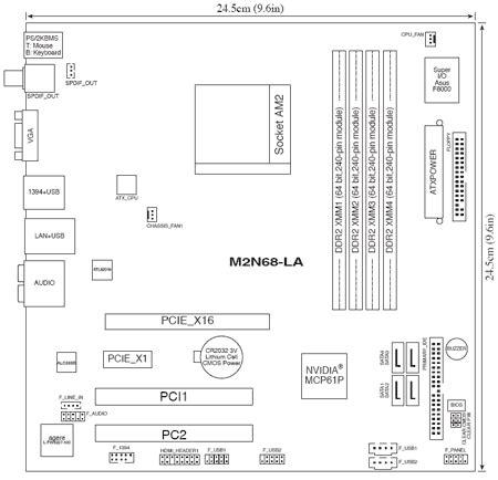 reset bios m2n68 la hp and compaq desktop pcs motherboard specifications