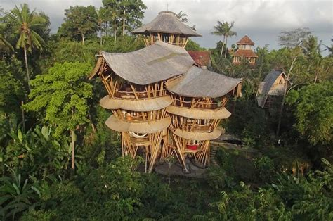 quits to build sustainable bamboo homes in bali