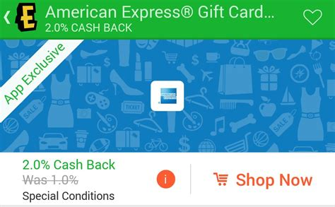 Ebates Pay With Gift Card - 2 cash back on amex gift cards through the ebates mobile app frequent miler