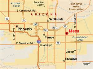 where is mesa arizona on a map mesa map with zoom in features mesa real estate