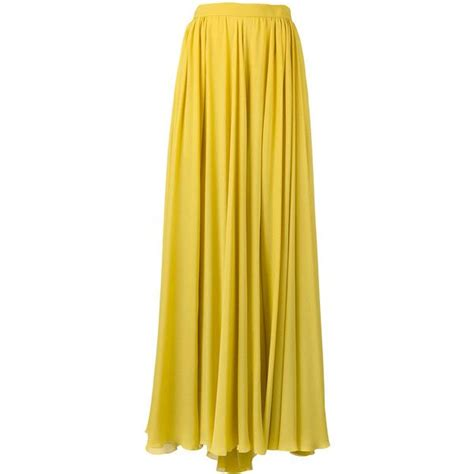 25 best ideas about yellow maxi skirts on bow