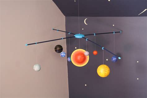 planet three mobile solar system mobile pottery barn page 5 pics about space