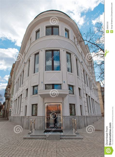 3 story building three story building stock photo image 28826150