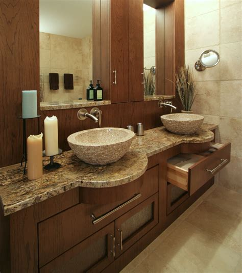 Granite Vanities Bathrooms by Granite Vanity Tops Bathroom Modern With Alcove Brushed