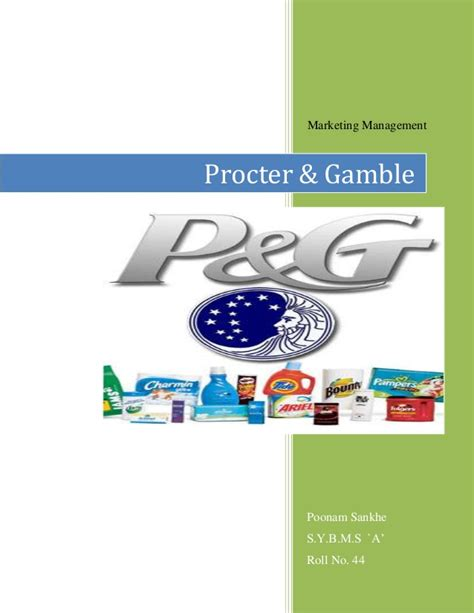 Procter And Gamble Mba Leadership Program by Procter And Gamble Marketing Management