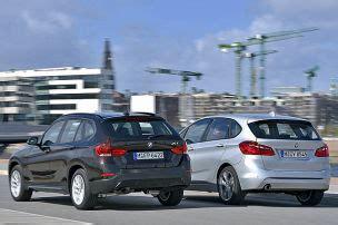 Vergleich Bmw X1 2er Active Tourer by Opel Meriva Autobild De