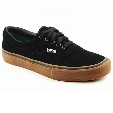 vans era gum vans era pro black gum forty two skateboard shop