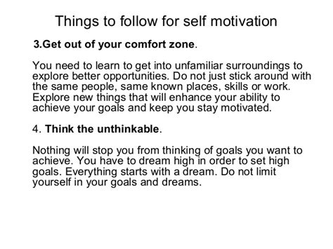 how to get motivated to learn new things self motivation