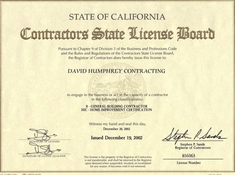 License Lookup Cslb License Verification Home Inspection Santa Barbara Home Inspector