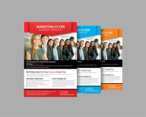 marketing flyer templates free 13 marketing flyer template free psd eps documents