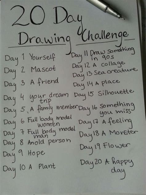 20 best ideas about 60 day challenge on pinterest 30 drawing challenge challenges and drawings on pinterest