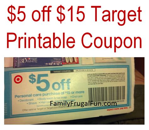 printable pers coupons 2014 target matchups family finds fun