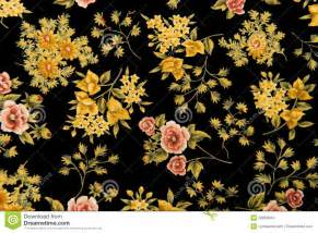 Tools For Upholstery Floral Fabric Black Background Stock Images Image 28063684