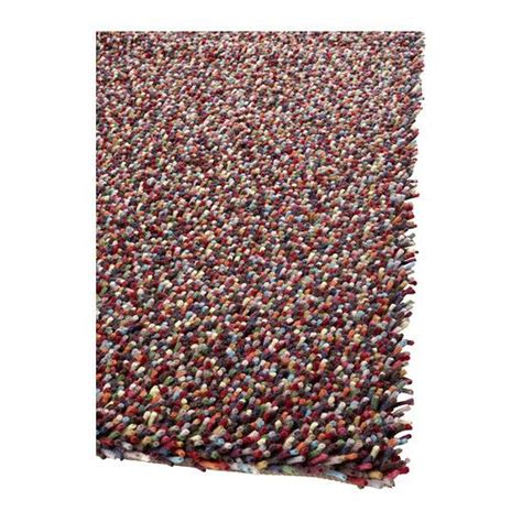 ikea wool rugs 214 rsted rug high pile multicolor this weekend wool and