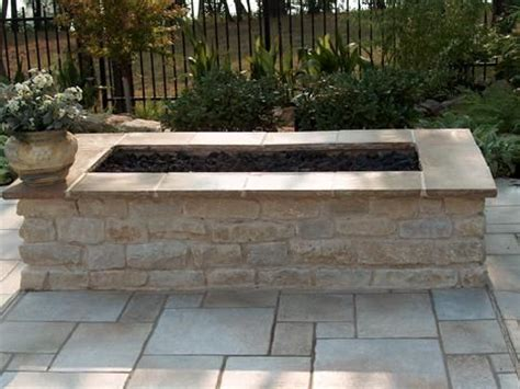 pit rectangular diy rectangular pit search outdoor design