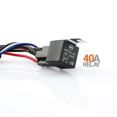 led light wiring led light wiring kit loom harness 12v 40a switch relay