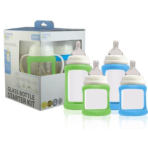 Newborn Starter Kit With Pp Wide Neck Sku26724 cherub baby wide neck glass baby bottle starter kit