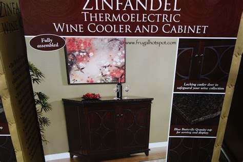 costco tresanti zinfandel thermoelectric wine cooler