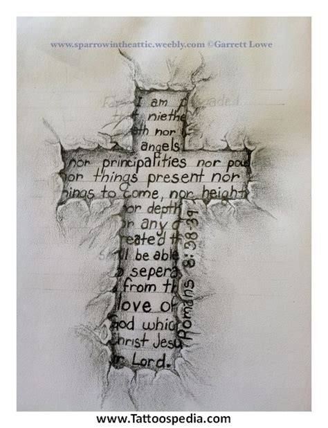 cross tattoo made of words cross tattoos made out of words 2