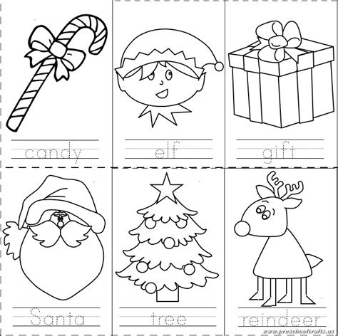 preschool christmas worksheet preschool crafts