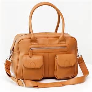 lola caramel leather baby bag 187 lubelle leather baby bags