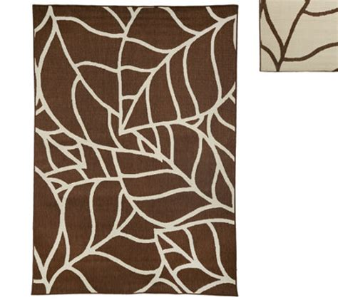 Veranda Living Indoor Outdoor Rug Veranda Living Colors Indoor Outdoor Abstract 7x10 Reversible Rug Page 1 Qvc