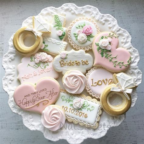 Wedding Cookie Ideas 917 best wedding cookies images on decorated