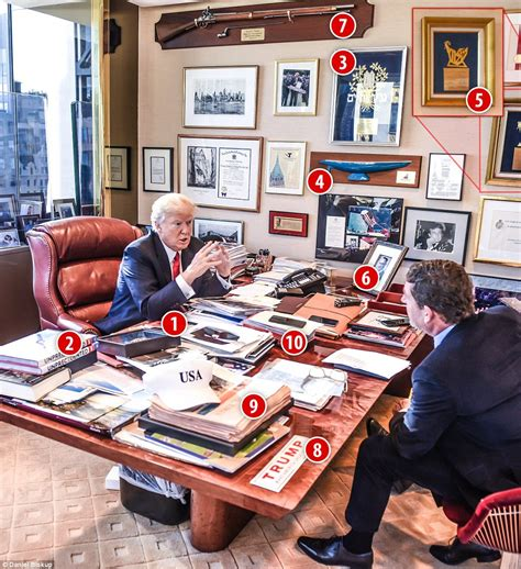 trump desk inside trump s bulletproof office at trump tower in nyc