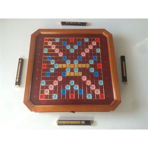 scrabble nederlands franklin mint collector s scrabble editie met 24 karaat