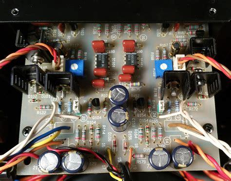 adcom gfa 555 capacitors sold beautiful adcom gfa 555 ii with all the mods hoppe s brain
