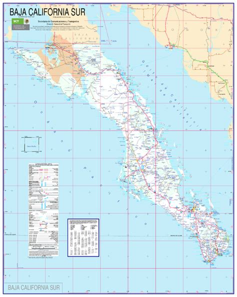 map of baja california baja california map south canelo mexico mappery