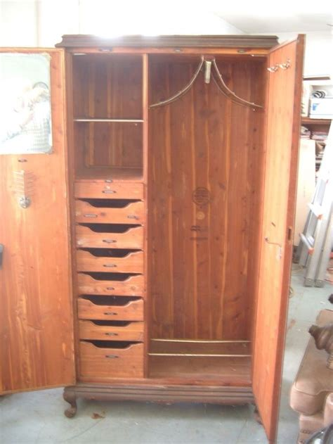 Cedar Armoire Wardrobe by Wardrobe Closet Cedar Wardrobe Closet For Sale