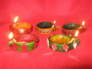 Diwali Decorations For Home diwali diyas made of wheat flour saumya s cards and crafts