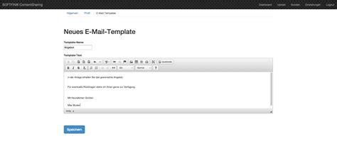 Angebot Legen Muster E Mail Vorlagen Softfin 174 For Success