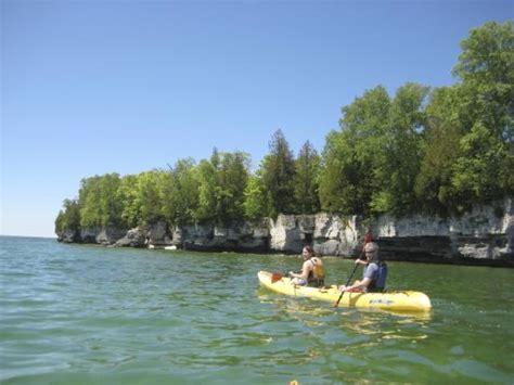 Kayaking In Door County by Cave Point County Park Kayak Tour With Door County Kayak Tours Llc Picture Of Door County